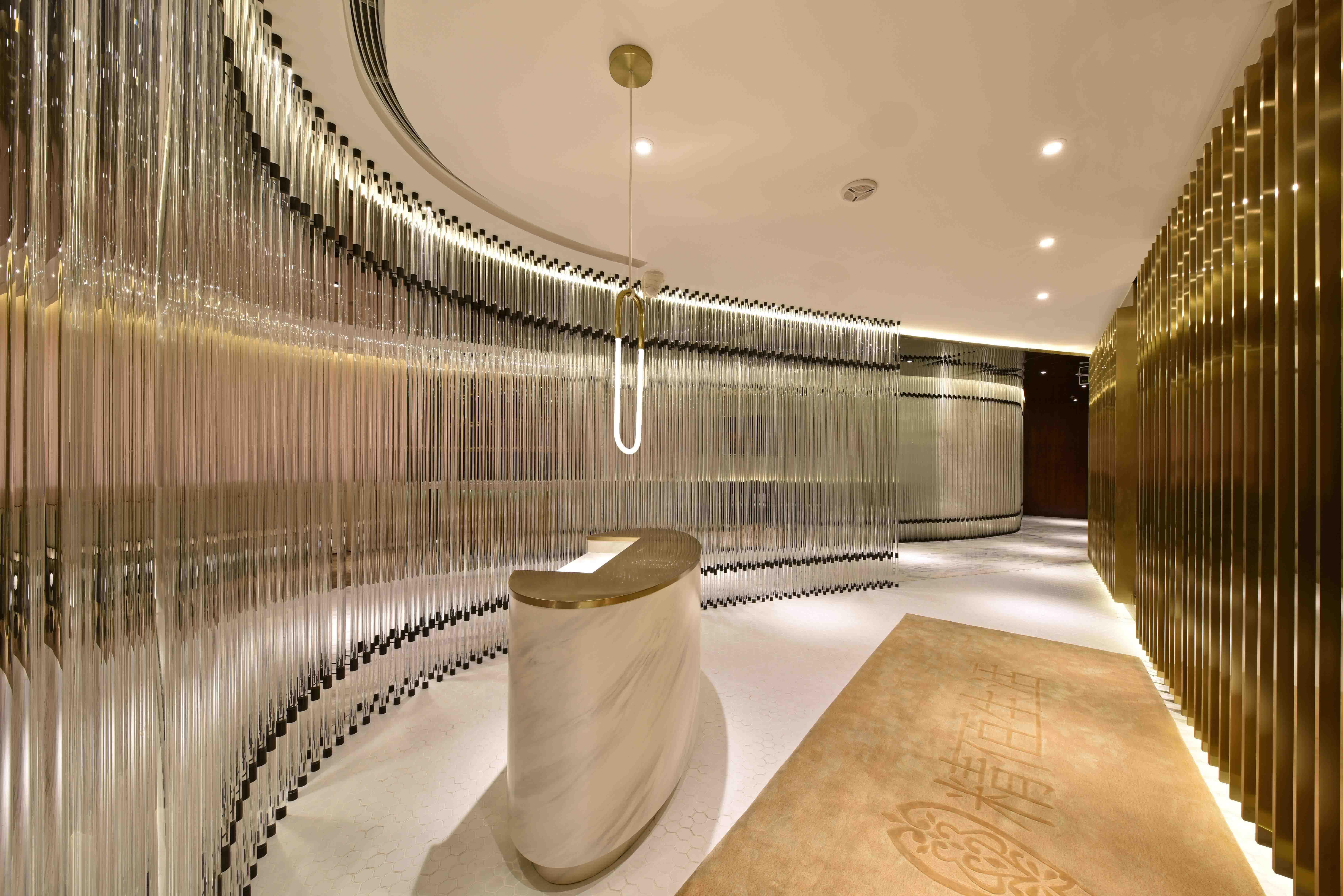 VIP Lift Lobby Marble Reception