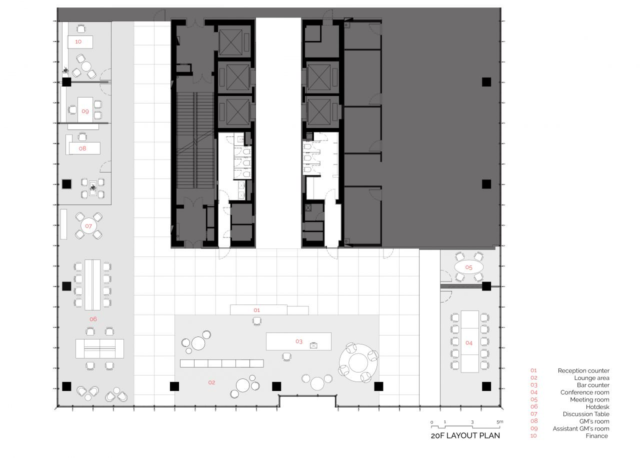 20F Layout Plan