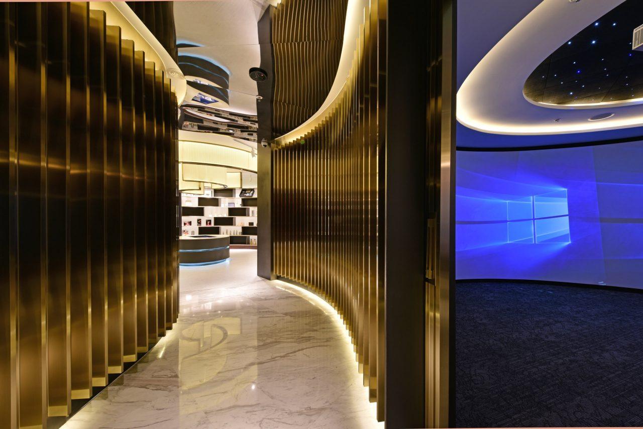 Corridor to 'Experiential Room'